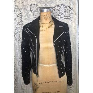 Jackets & Blazers - Vintage leather jacket.